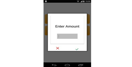 Customizing dialog in Android