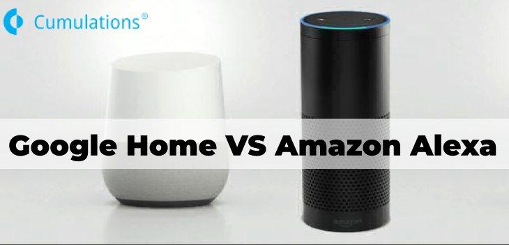 Amazon Alexa vs. Google Home