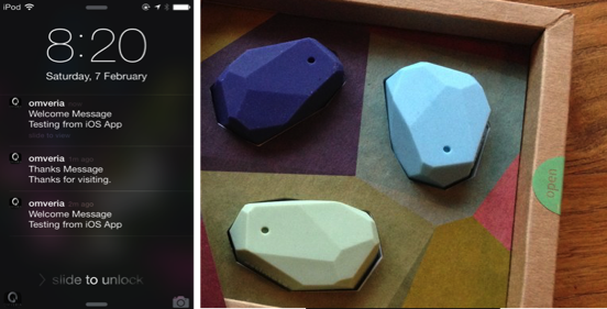 Working with iBeacons in iOS
