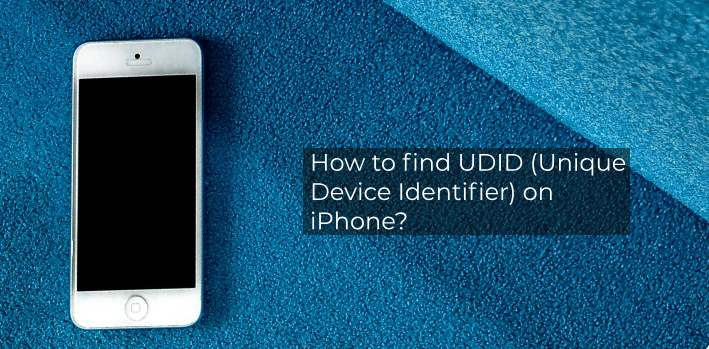 find UDID (Unique Device Identifier) on iPhone