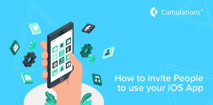 invite People to use your iOS App
