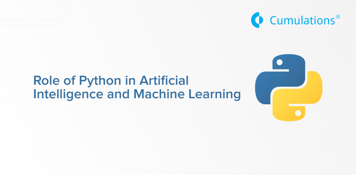 Role of Python in Artificial Intelligence and Machine Learning