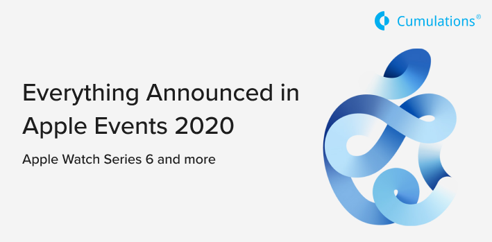 Everything Announced in Apple Events 2020
