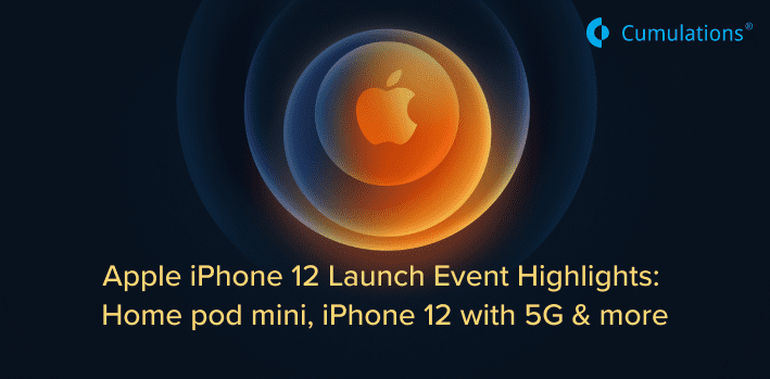 Apple iPhone 12 Launch Event Highlights