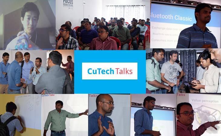 The Success story of CuTech Talks