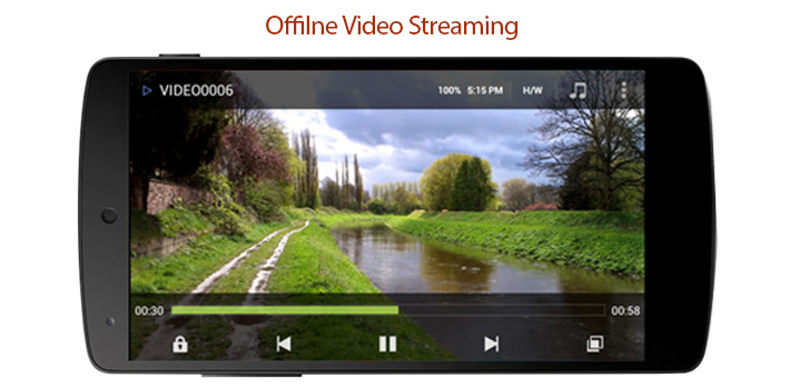 Android Offline Video Streaming