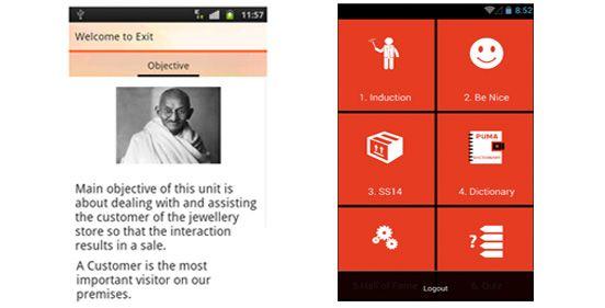 Training on Mobile App, made easy