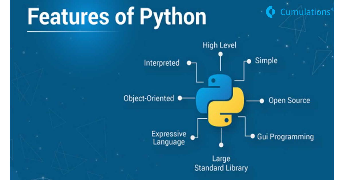 featers of python